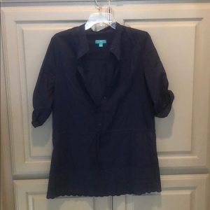 Calypso for Target navy tunic